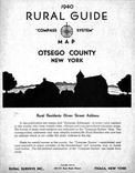 Title Page, Otsego County 1940